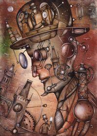 Deep Mind Navigation, 2015 (Автор: Евгений Иванов)