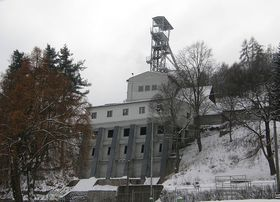 Svornost uranium mine in Jáchymov, photo: Mejdlowiki, CC BY-SA 3.0