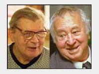 Jiří Hanzelka a Miroslav Horníček, foto: ČTK