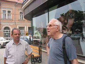 Ivan Latko (vlevo) aLibor Chytílek, foto: autorka