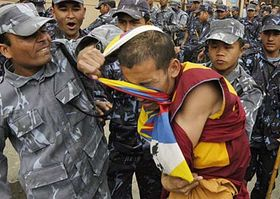 Disturbios en Tíbet (Foto: CTK)