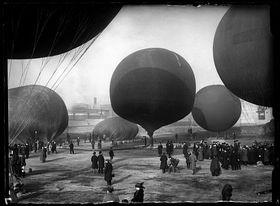 Concurso de globos en Madrid, 1913