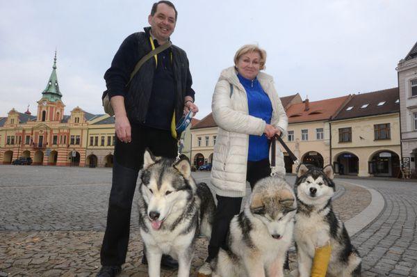 Иржи Кутин и Ирина Заяц, фото:  Эва Туречкова