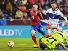 Z fotbalového zápasu Česka s Kosovem, foto: ČTK / Miroslav Chaloupka