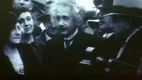 Albert Einstein, foto: ČT24
