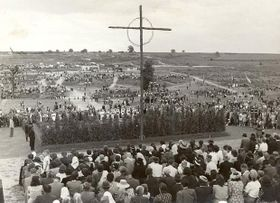 The third anniversary of the destruction of Lidice, June 1945