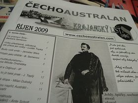 Časopis Čechoaustralan, foto: archiv ČRo - Radia Praha