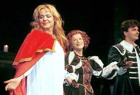 Dagmar Havlová como 'Reina Cristina' (Foto: CTK)