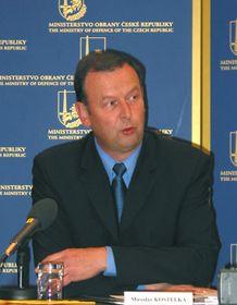 El ministro de Defensa, Miroslav Kostelka (Foto: Pavla Jedlickova)