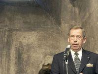 Acto conmemorativo al que asistió el presidente, Václav Havel, foto: CTK