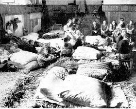 Cientos de checos tuvieron que abandonar los Sudetes