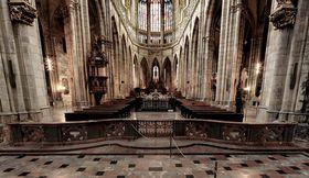 La catedral de San Vito en Praga, foto: Ondřej Tomšů