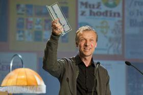 Martin Reiner a remporté le Grand prix de la Littérature tchèque, photo: ČTK