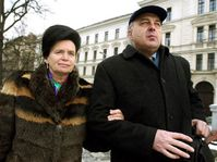 Barbora Snopkova and Ivo Svoboda, photo: CTK