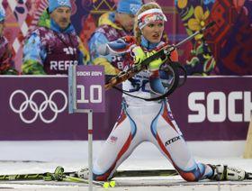 Gabriela Soukalová, foto: ČTK