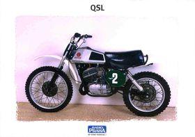 CZ 250, motocross, Checoslovaquia 1972