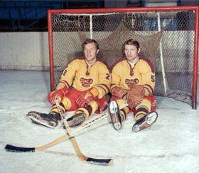 Jiří und Jaroslav Holík (Foto: Archiv HC Dukla Jihlava)