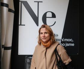 координатор Post Bellum Мария Яноушкова, фото: Мартина Шнайбергова