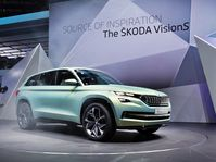 Škoda VisionS, photo: ČTK