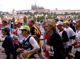 Desátý ročník Pražského mezinárodního maratonu, foto: ČTK