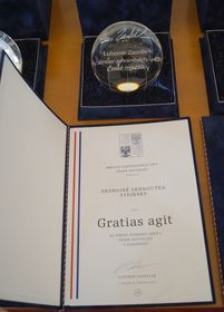 Gratias Agit Award, photo: Czech Radio - Radio Prague