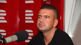 Radek Kašpárek, photo: Lucie Výborná, ČRo