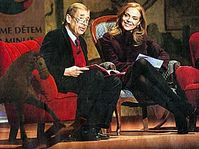 Vaclav and Dagmar Havel, photo: MFDnes, 31.10.07
