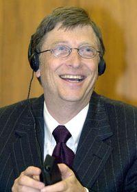 Jefe de Microsoft, Bill Gates