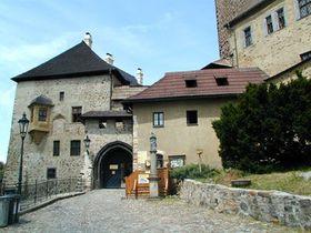 Castillo Loket, foto: Archivo de Radio Praga
