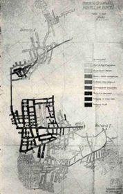 Plan de las galerías subterráneas de Ricardo I del 20 de enero de 1945