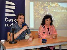 Jan Ryant Dřízal und Sylvie Bodorová (Foto: Eva Turečková)