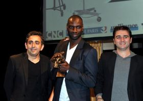 Éric Toledano, Omar Sy et Olivier Nakache, photo: Georges Biard, CC BY-SA 3.0