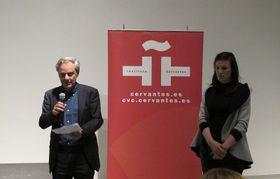 El comisario de la exposición 'Upfront', Ramiro Villapadierna, foto: Dominika Bernáthová