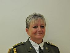 Colonel Zuzana Kročová, photo: archive of University of Defence in Brno