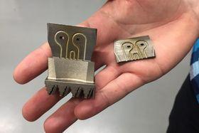 3D printed lattice structures, photo: Vojtěch Koval