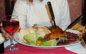 Goose with dumplings and cabbage, photo: archive of Radio Prague