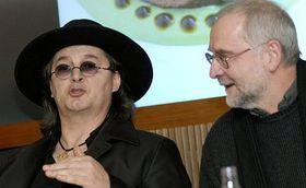 Marc Veyrat et Petr Suske, photo: CTK
