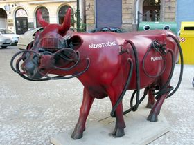 CowParade Prague 2004