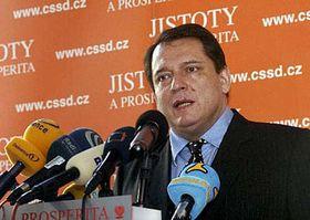 Předseda ČSSD Jiří Paroubek, foto: ČTK