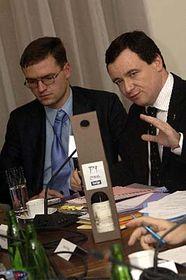 Ministr zdravotnictví David Rath (vpravo), foto: ČTK