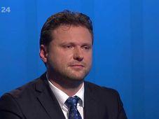 Radek Vondráček, photo: ČT24