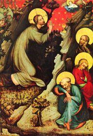 Мастер Тршебоньского алтаря, «Христус на Елеонской» (1380 - 1385 гг.)