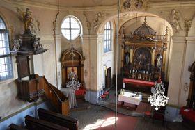 Kreuzerhöhungskirche in Zdiby (Foto: Ondřej Tomšů)