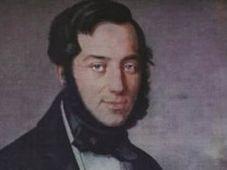 Франтишек Шкроуп на картине Антонина Махка, 1840 г.