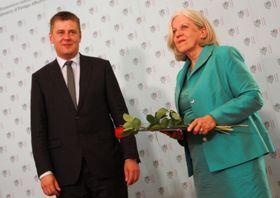 Tomáš Petříček und Beatrix Jerie (Foto: Barbora Němcová)