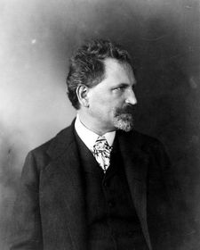 Alfons Mucha (Foto: George R. Lawrence, Wikimedia Commons Free Domain)