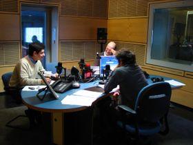 Одна из студий Радио Прага, Фото: Штепанка Будкова, Чешское радио - Радио Прага
