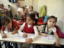 Kinder in Syrien (Illustrationsfoto: ČTK / Ugur Can / DHA via AP)