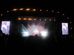 Benjamin Clementine en concierto, foto: Ana Briceño