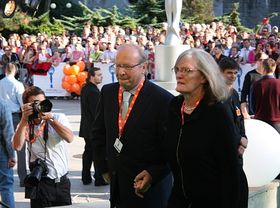 Иван Пассер на Международном фестивале в Карловых Варах, фото: Штепанка Будкова